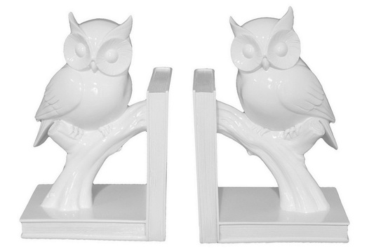 Livingspaces Owl Bookends