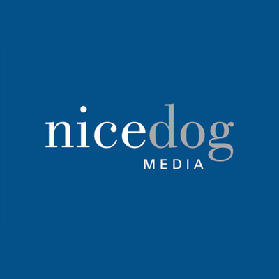 Branding and identity, Nice Dog Media, Graphic Design